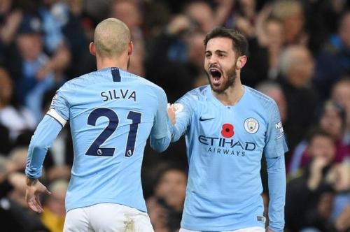 David Silva heaps praise on his 'brilliant' Man City successor