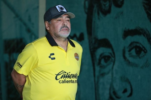 Man City fans troll Diego Maradona over his Jose Mourinho and Pep Guardiola claim