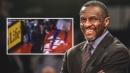 Dwane Casey's reaction to game-winner over Raptors