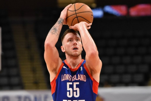 Mitch Creek not giving up on NBA dream while playing for Long Island Nets