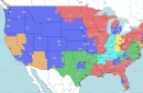 Broncos at Chargers: TV broadcast map (CBS)