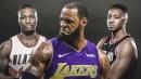 Damian Lillard, CJ McCollum say LeBron James is unstoppable when he's making 3s
