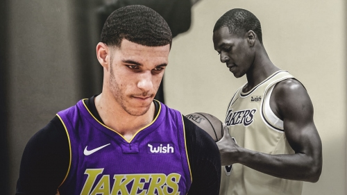Lonzo Ball on what LA will be missing without Rajon Rondo, how he'll step up