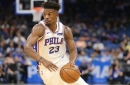 Cris Carter evaluates Jimmy Butler's Philadelphia 76ers debut