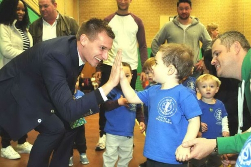 How Leicester City star Marc Albrighton is inspiring Midland youngsters