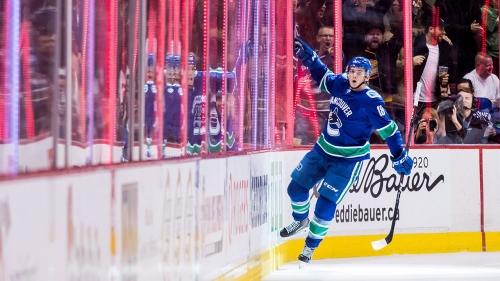How stickhandling sensation Pavel Barber spurred Jake Virtanen's rise