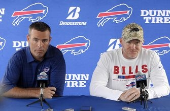 Struggles aside, Bills GM not veering from rebuilding plan