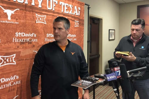 Texas DC Todd Orlando focused on correcting tackling issues