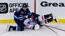 Jets' Josh Morrissey to have hearing for slamming Capitals' T.J. Oshie to ice