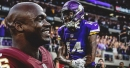 Stefon Diggs reacts to Adrian Peterson's desire to beat Vikings in playoffs