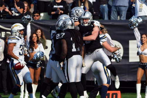 Raiders rookie report: Load increases and will continue to