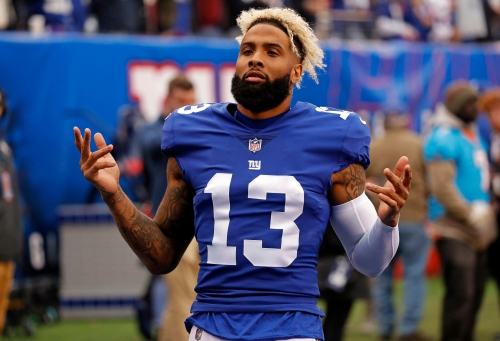 Odell Beckham Jr.: Goal is to win seven more games, 'No matter who believes it'