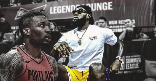 Lakers' LeBron James sits out practice after 44-point night vs. Blazers