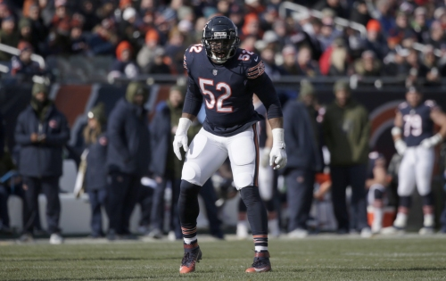 Khalil Mack has brought 'swagger' to already good Chicago Bears defense