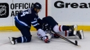 Jets' Josh Morrissey fined for hit on Capitals' T.J. Oshie