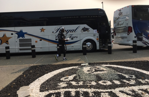 Raiders take practice off-site to indoor facility