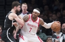 """Rockets """"parting ways"""" with 10-time All-Star Carmelo Anthony"""