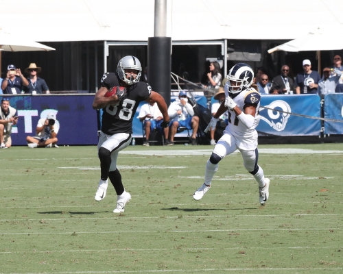 Can rookie Marcell Ateman boost Raiders' depleted receiving corps?