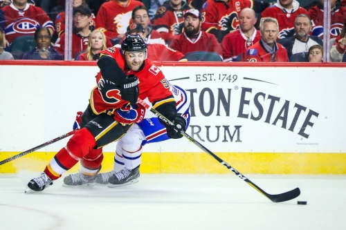 Montreal Canadiens at Calgary Flames [Game 19]