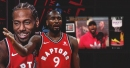 Raptors' Serge Ibaka hilariously mocks Kawhi Leonard's laugh