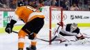 Devils' Kinkaid makes 29 saves to shutout Flyers