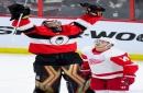Senators' Craig Anderson stops 2 penalty shots in win over Red Wings