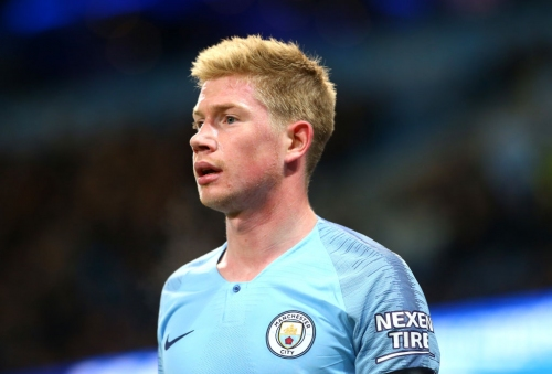 Kevin De Bruyne to return to Manchester City training next week