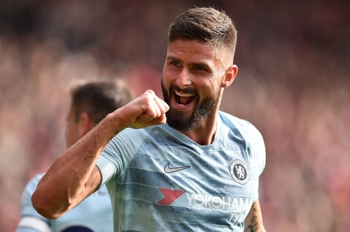 Olivier Giroud vows to stay at Chelsea despite losing his place to Alvaro Morata