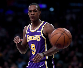 Lakers will be without Rajon Rondo for a bit