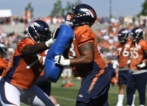 "Broncos RG Elijah Wilkinson prepared for ""amazing opportunity"""