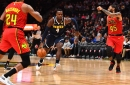 Hawks blown away from get-go in lopsided loss to Nuggets