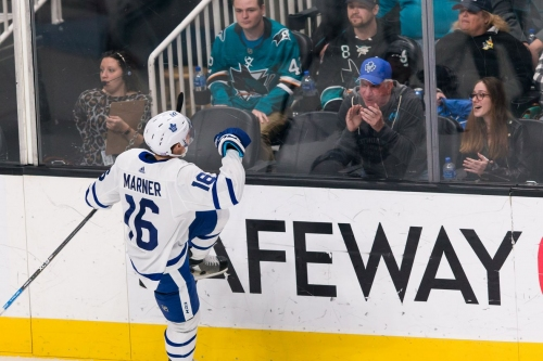 Winning Play: Marner outsmarts Sharks