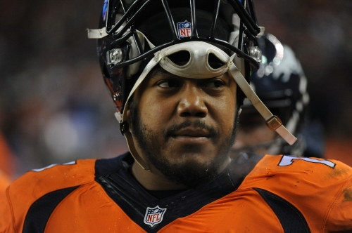 Broncos tracker: Starting left guard Max Garcia suffers torn ACL