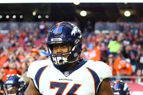 Broncos' left guard Max Garcia out for year with torn ACL