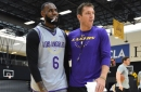 Lakers News: Luke Walton Has Ultimate Praise For LeBron James Surpassing Expectations As 'The King'