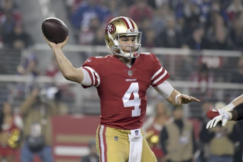 Nick Mullens is the starter, but for how long?