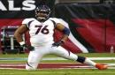 Broncos lose guard Max Garcia to knee injury