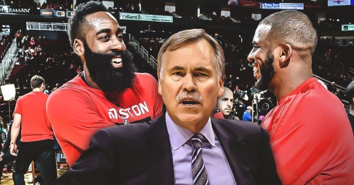 Mike D'Antoni stresses importance of Rockets drowning out the 'white noise'