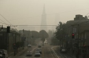 Smoke from wildfire forces Raiders indoors for second day