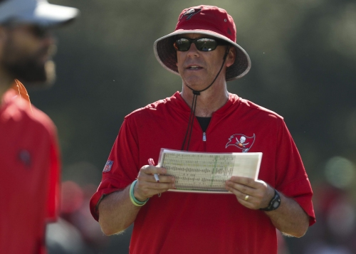Bucs coach Dirk Koetter said OC Todd Monken will call plays against Giants