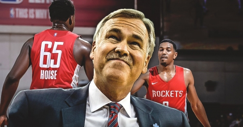 Mike D'Antoni says Rockets' new players are finally getting a hang of switch-heavy scheme
