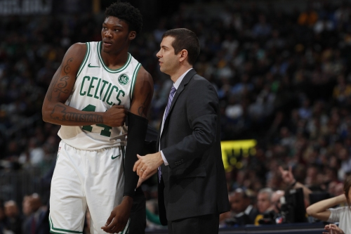 Boston Celtics' Robert Williams was 'messing up' defensively in Maine, plus pre-game notes