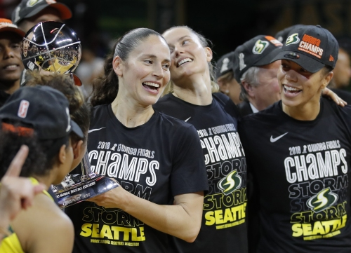 Nuggets add WNBA champion Sue Bird to front office staff
