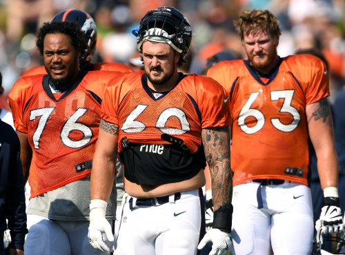 Broncos Briefs: Max Garcia (ACL) becomes latest offensive lineman to be lost for year