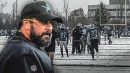 Lions HC Matt Patricia gets defensive when asked why team practiced in snow
