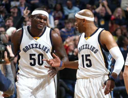 WATCH: Zach Randolph full of warm embraces in FedExForum return for Grizzlies vs. Kings