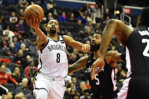 Dinwiddie and Russell lead the attack in Brooklyn's victory over Washington, 115-104