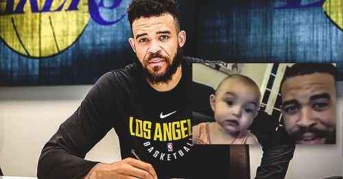 Lakers' JaVale McGee watches everything he does now because of daughter Gigi
