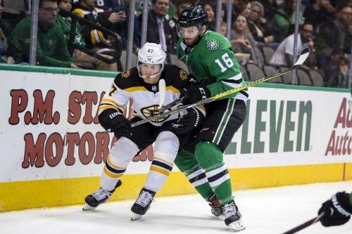 Dickinson Lifts Stars Past Bruins in OT Thriller
