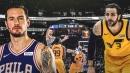 Video: Sixers' JJ Redick kicks Ricky Rubio on the chin